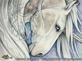 Ashley Unicorn Badge by Goldenwolf