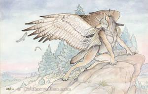 Friends At Dusk by Goldenwolf
