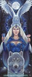 Feminine Divine by Goldenwolf