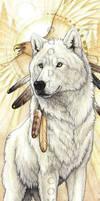 Dawn Spirit's Flight by Goldenwolf