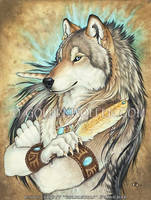 Golden Feather by Goldenwolf