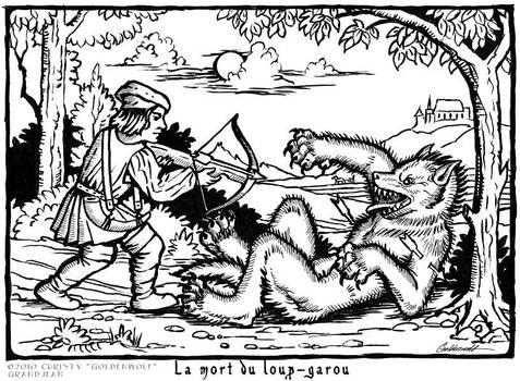 La mort du Loup-Garou