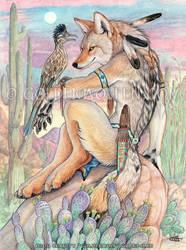 Arroyo Amigos by Goldenwolf
