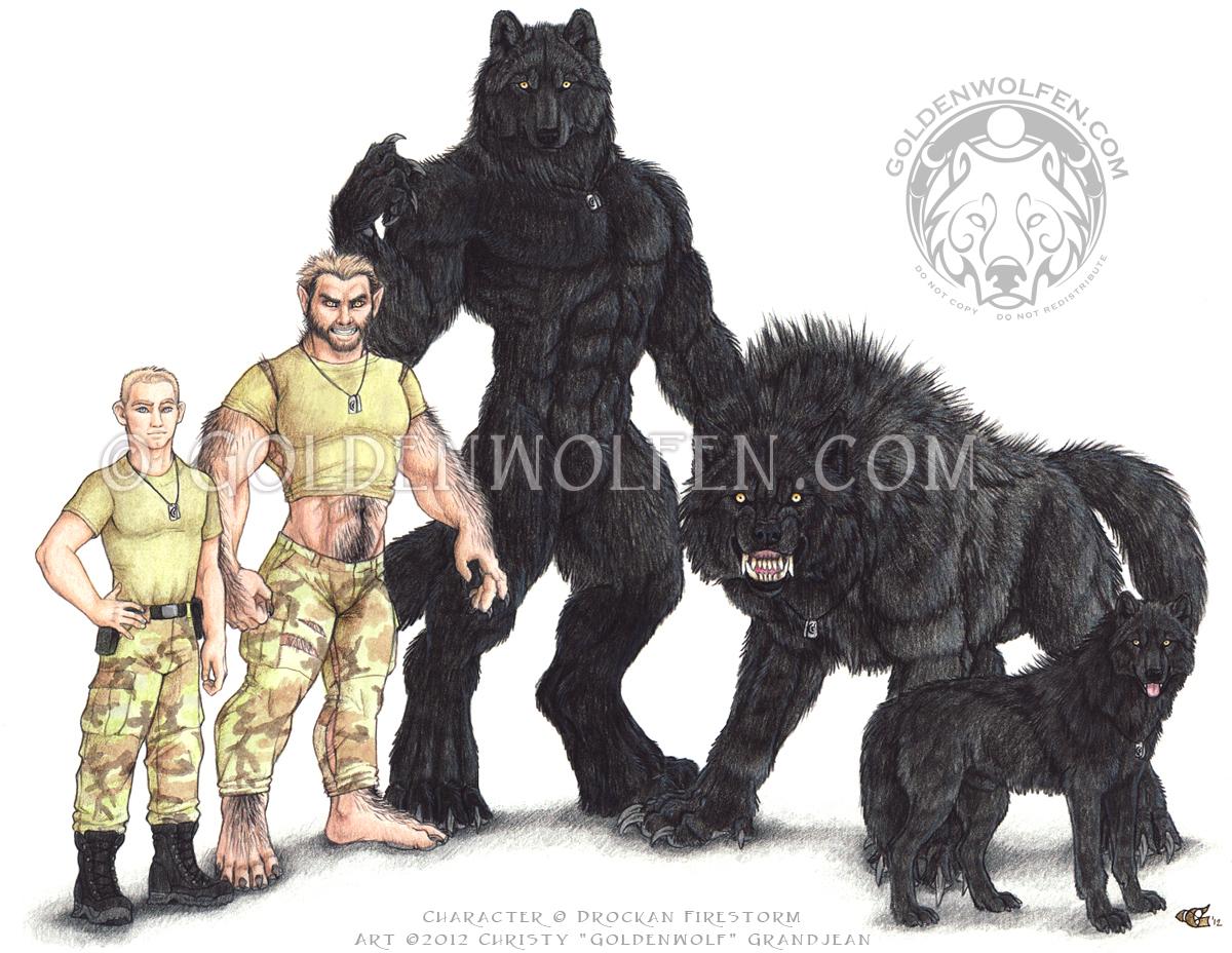Werewolf vs weretiger - photo#50