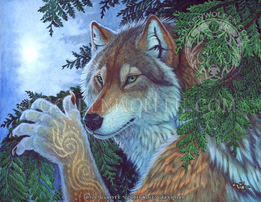 Evergreen by Goldenwolf