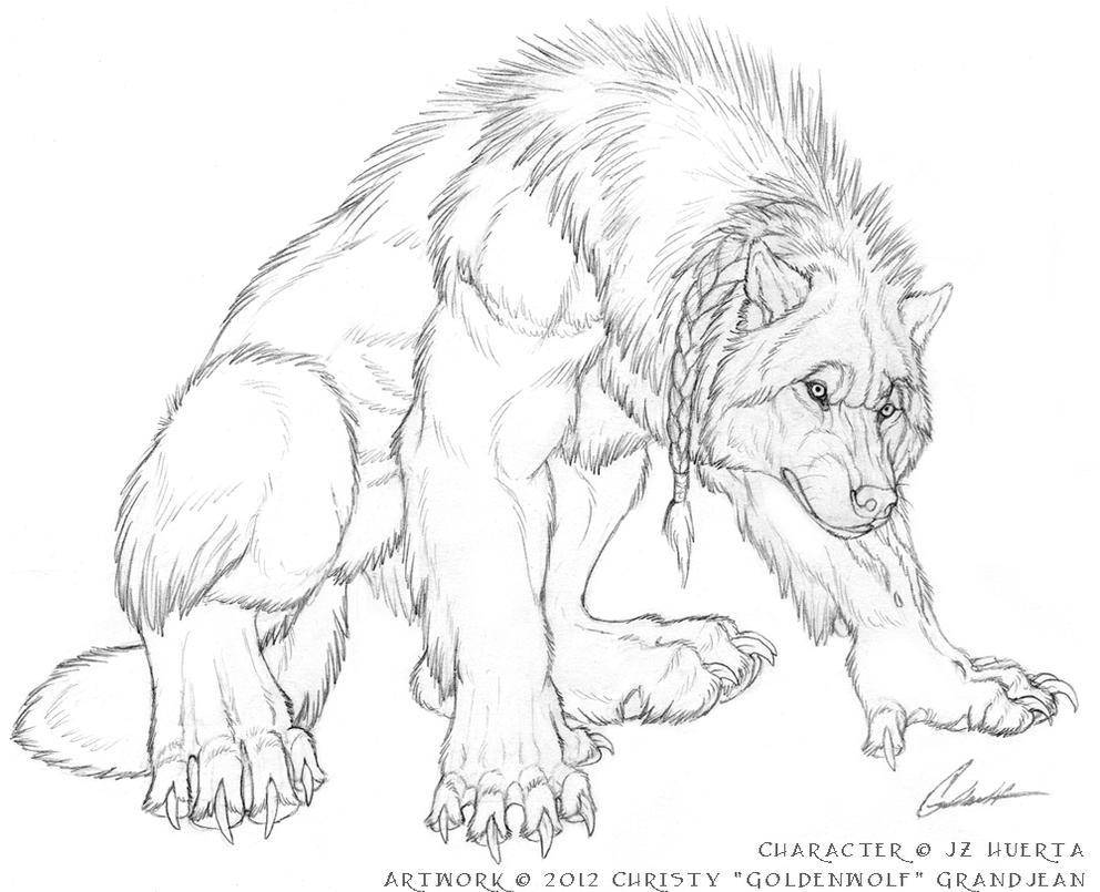 Samson Phoenix by Goldenwolf