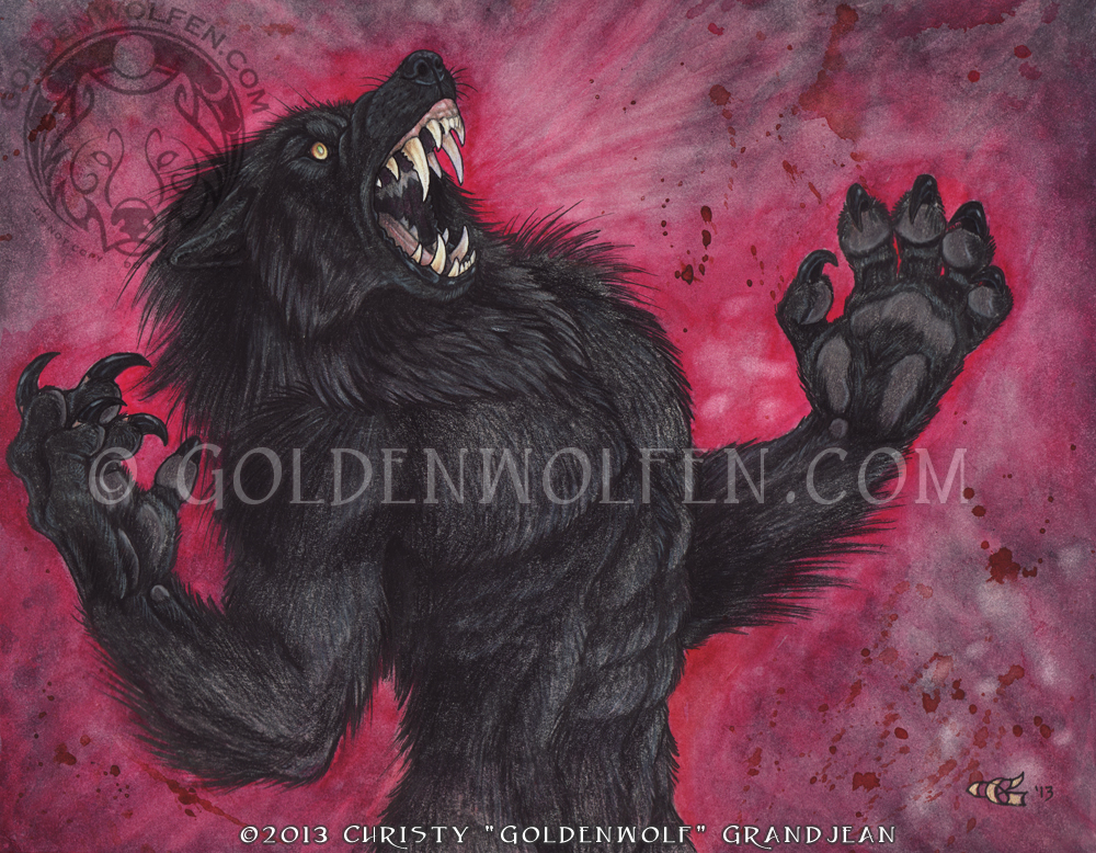 Blood Rage by Goldenwolf