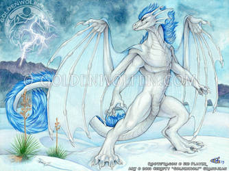 Blue Storm by Goldenwolf