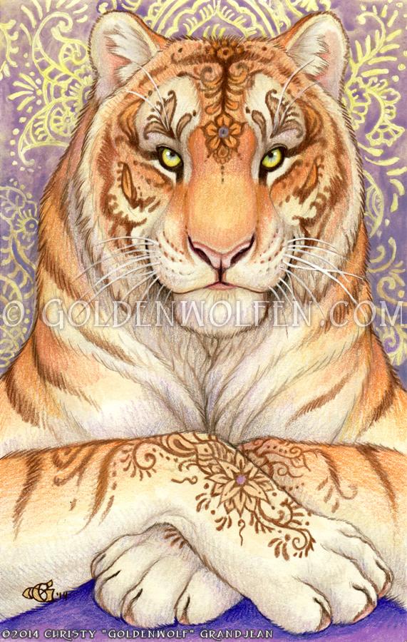 Mehndi by Goldenwolf