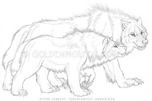 Hangin' With da Bolf by Goldenwolf