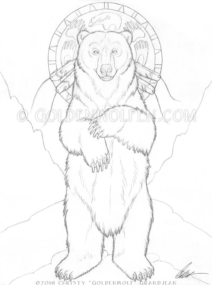 Standing Bear by Goldenwolf on DeviantArt