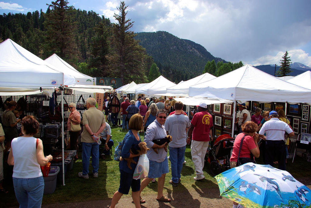 Heads Up Colorado Estes Park Art Market By Goldenwolf On Deviantart