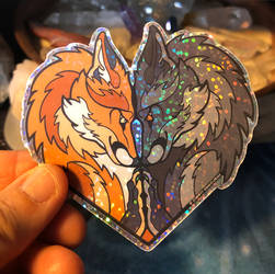Foxy Luv sticker Special Offer!