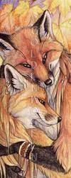 Autumn Love by Goldenwolf