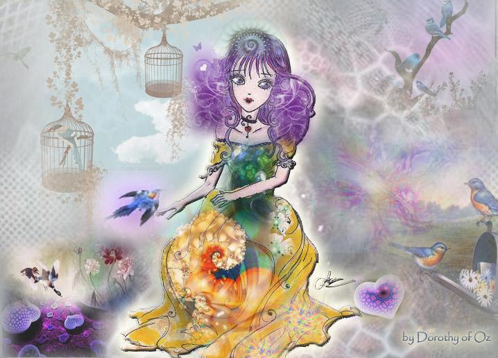 Les Oiseaux Bleus by Dorothy-of-Oz