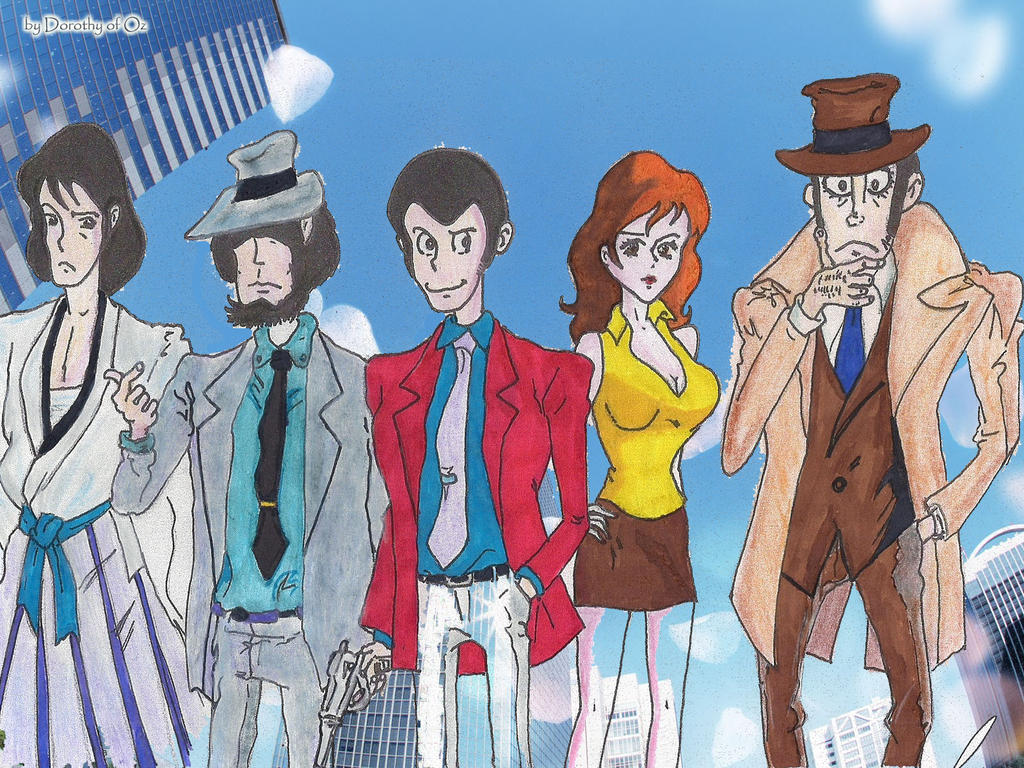 Lupin Family (Skyscraper Version) by Dorothy-of-Oz
