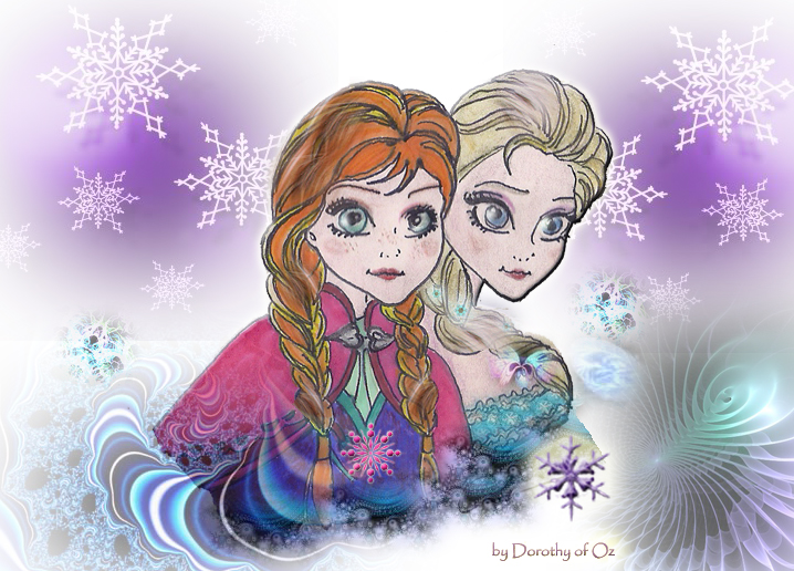 Sisters of Arendelle by Dorothy-of-Oz