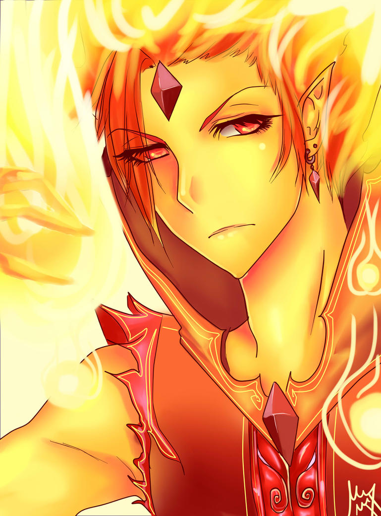 Flame Prince by ShikiAriandriNight