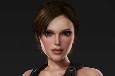Lara Croft makeover