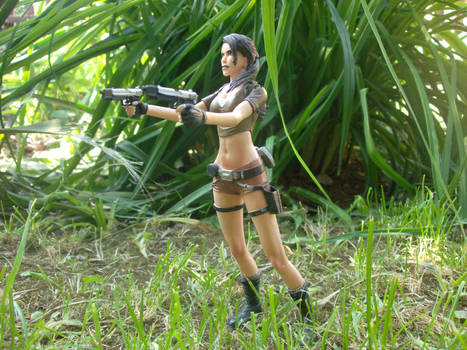 Lara in action