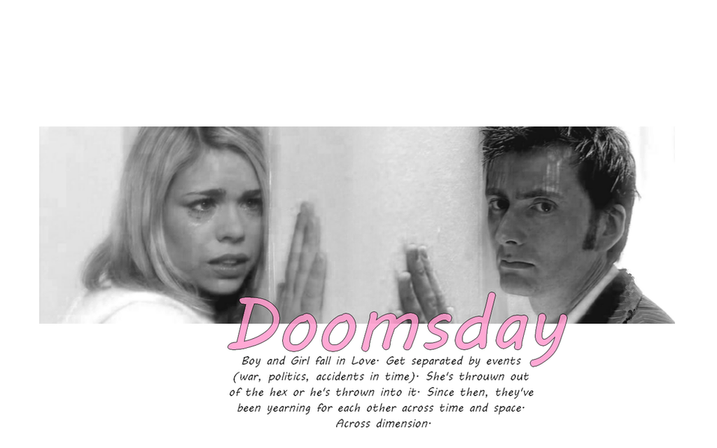 Tenth Doctor And Rose Doomsday Wallpaper Doomsday - R...