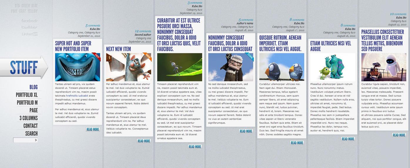 Stuff Horizontal Portfolio by PremiumThemes