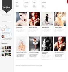 Helicious Grid Style WordPress