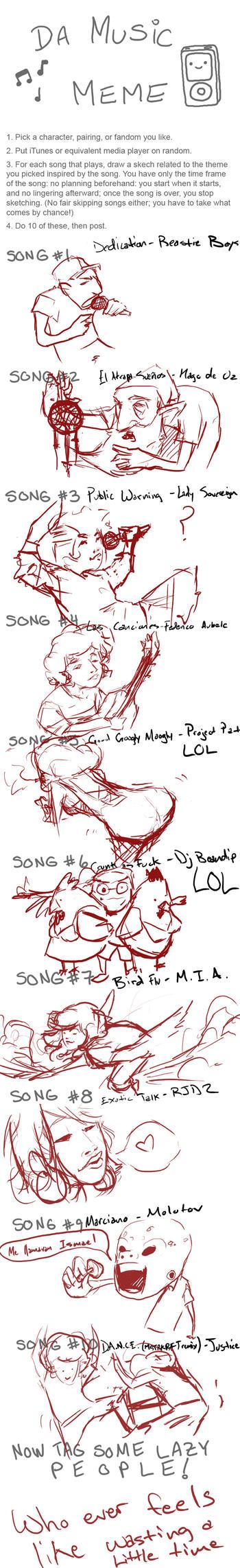 DA music meme by padayappa