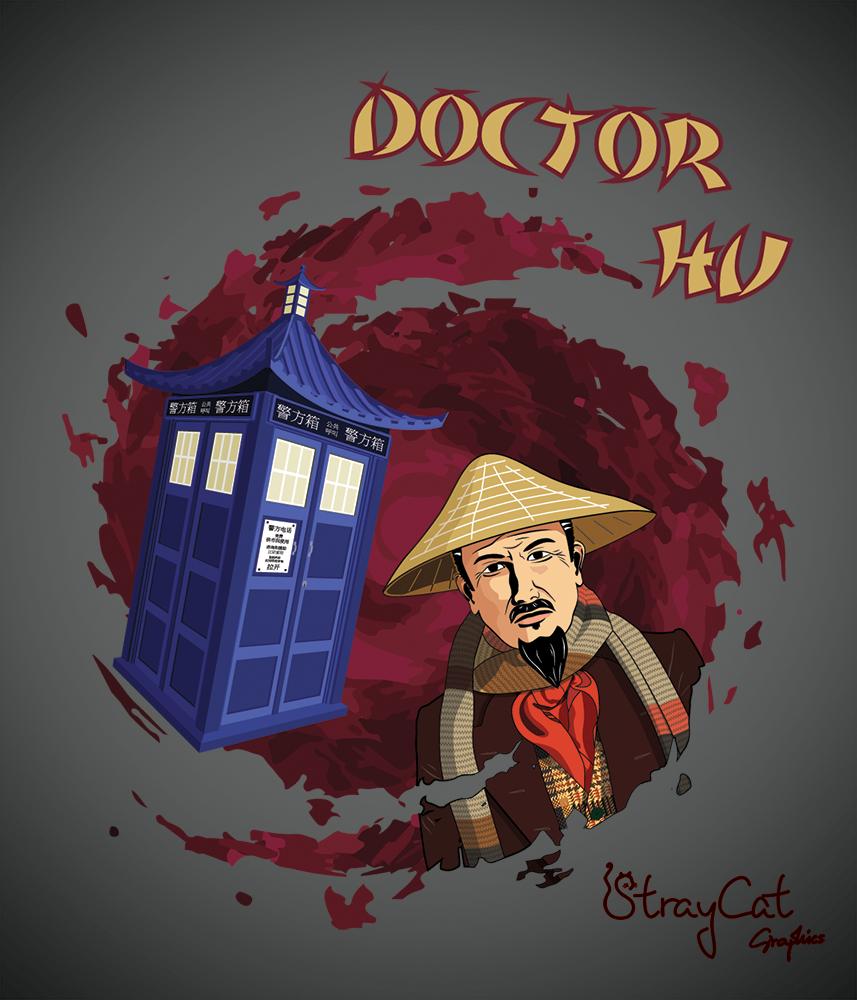 Doctor Hu by StrayCatGraphics