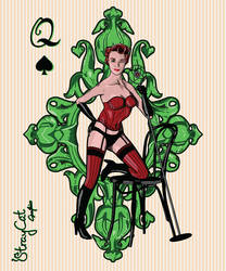 Cabaret (Queen of Spades) by StrayCatGraphics