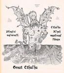 Great Cthulhu by StrayCatGraphics