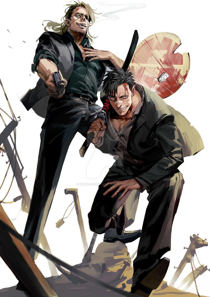 The 30 Day's Anime Challenge  - Page 9 Gangsta__by_white_corner-daim0f2