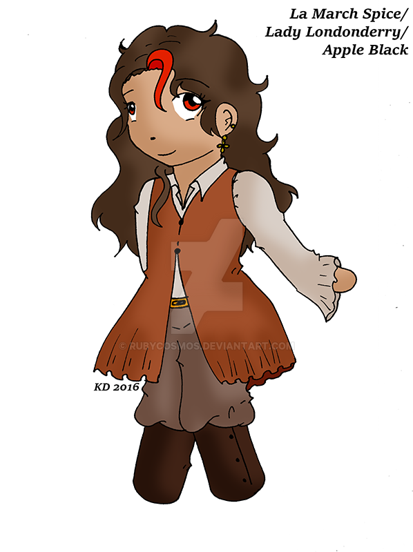 Tea Girl: AppleDerry Spice by RubyCosmos