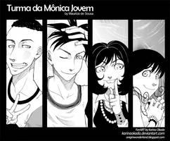 Turma da Monica Jovem by karinaokada