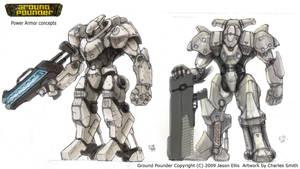 GP Power Armor Ideas