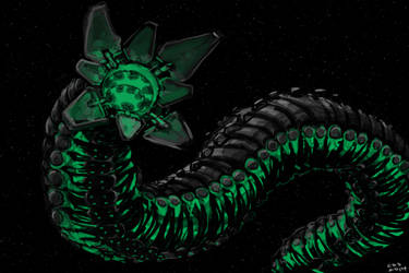SpaceWorm Quick Paint by Galiford