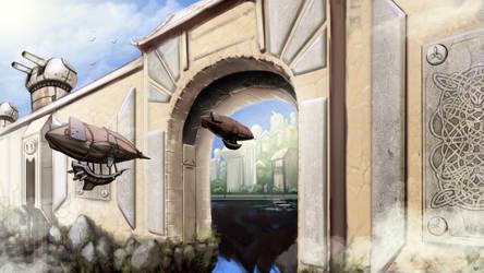 Gates OF Asgard Concept by Galiford