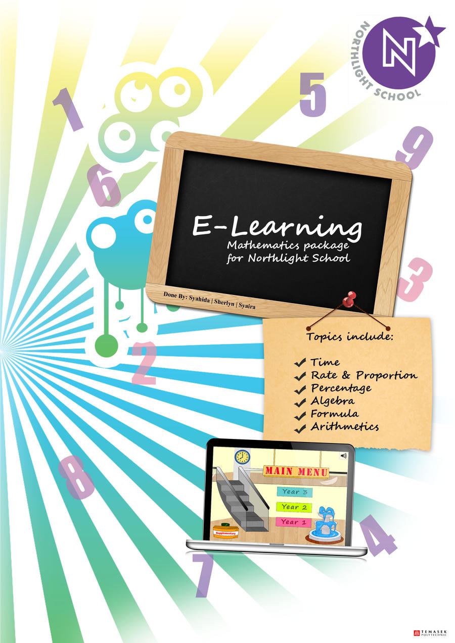 E learning poster designs -  E Learning Package Poster By Syasya Licious