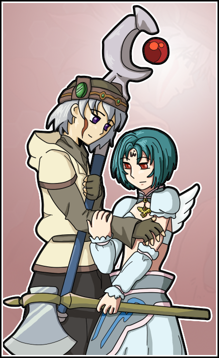 Tsukasa and Subaru from  hack//SIGN by Sakuradelari on DeviantArt