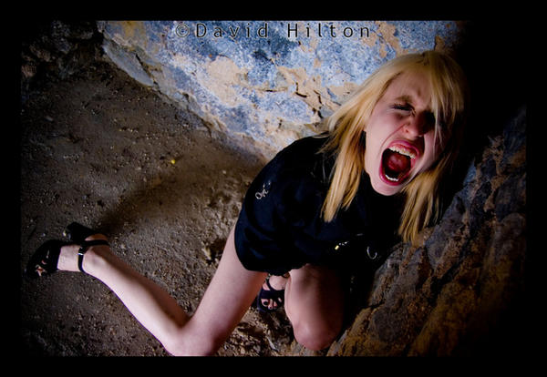 Crazy Girl in the Basment by BlondeinTokyo