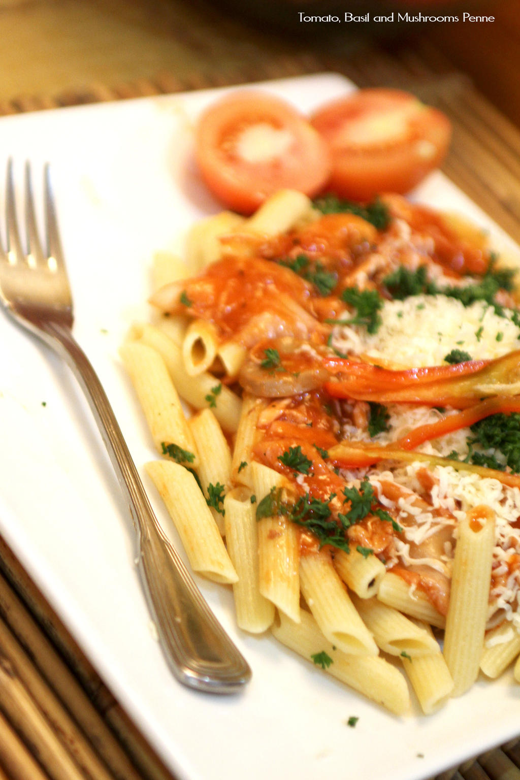 Vegetrian Red Pasta by Foodtrip