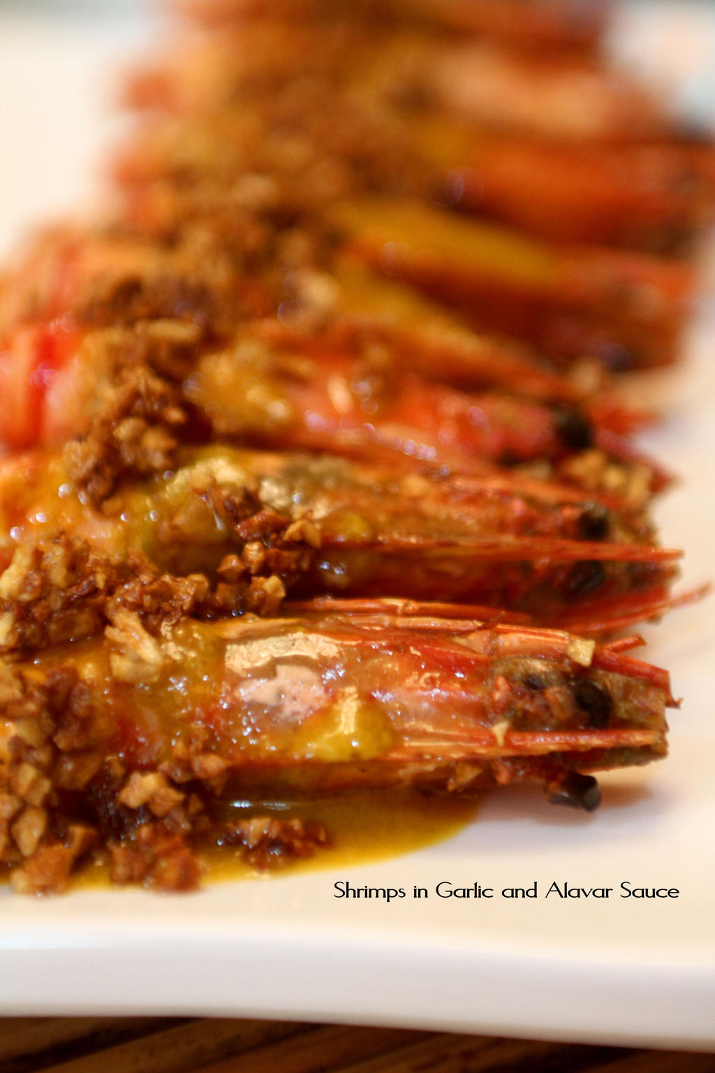 Garlic Shrimps in Alavar Sauce by Foodtrip