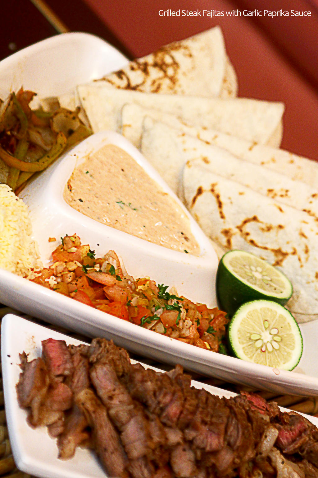Steak Fajitas by Foodtrip