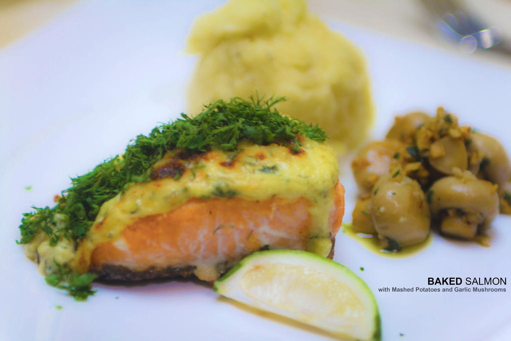 Baked Salmon by Foodtrip