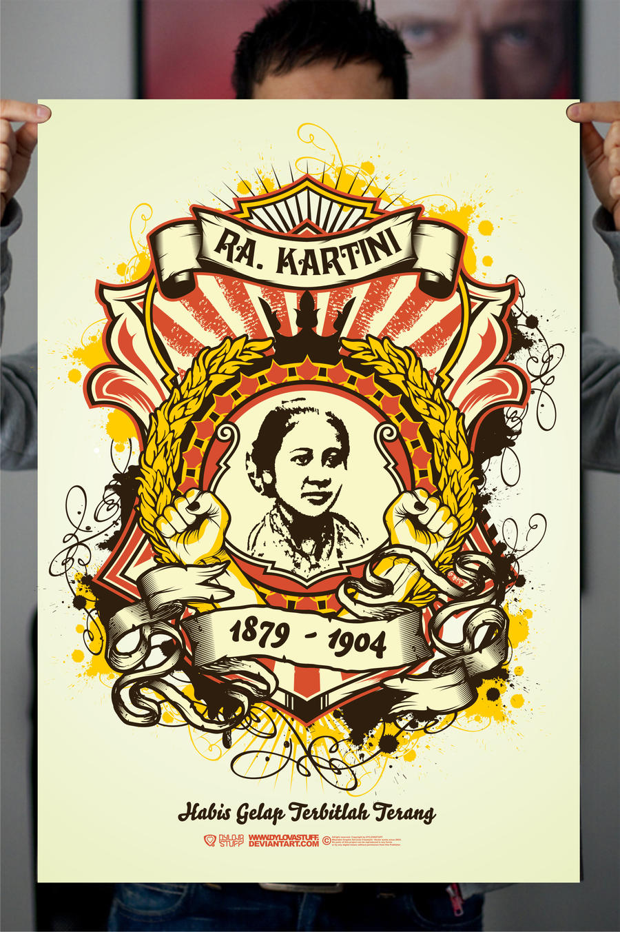 RA. KARTINI 1879 - 1904 by dylovastuff