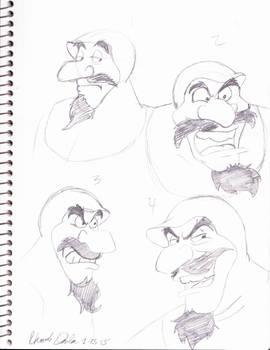Duke Igthorn Sketch Dump