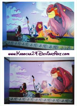 Lion King Mural 2