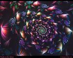 Petals on the Wind-Gift Art by Alterren