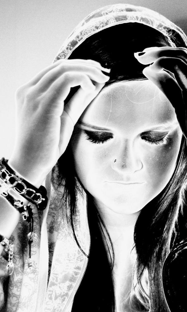 Secret Sorrow Sorrowful Woman