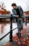 Autumn reflections by Bernhardina